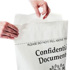 Fill with confidential documents - then seal.